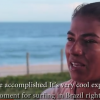 Guerreira das ondas: Silvana Lima participa do clipe Ondas Grandes